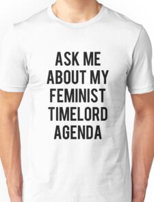 FEMALE TIMELORD Unisex T-Shirt
