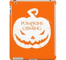 Pumpkin Are Coming iPad Case/Skin