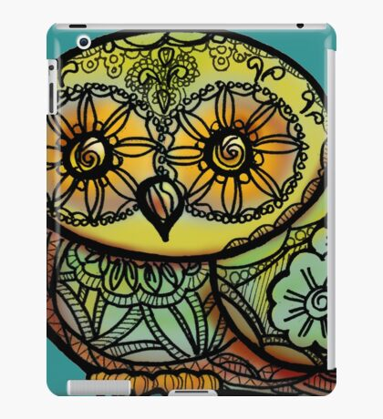 Owl - Tattoo iPad Case/Skin