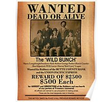 The Wild Bunch Wanted Poster Poster