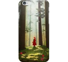 Little Red Riding iPhone Case/Skin