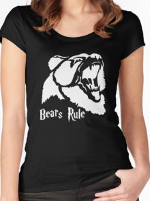 Bear Hungry Women's Fitted Scoop T-Shirt