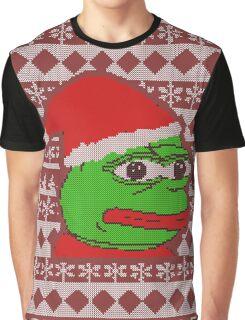 Pepe Christmas Graphic T-Shirt
