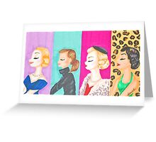 Icons Greeting Card