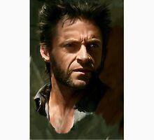 Hugh Jackman Wolverine digital painting (2) Unisex T-Shirt