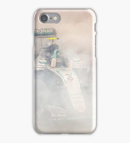 Nico Rosberg Mercedes formula 1 Champion 2016 iPhone Case/Skin