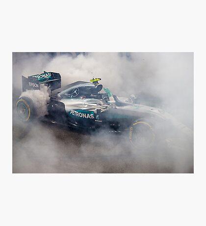 Nico Rosberg Mercedes formula 1 Champion 2016 Photographic Print