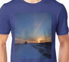 Cold winter morning in the Bakken oil fields, North Dakota T-Shirt
