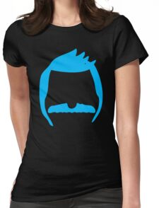 Cool Mustache Womens Fitted T-Shirt