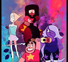 We are the Crystal Gems! by Luna3391