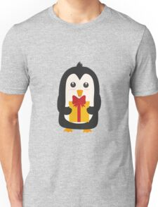 Penguin with Presentbox Unisex T-Shirt