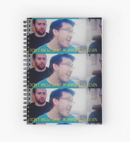 Moaning? Spiral Notebook