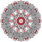 Red Black Kaleidoscope by fantasytripp