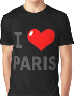 I love Paris Graphic T-Shirt
