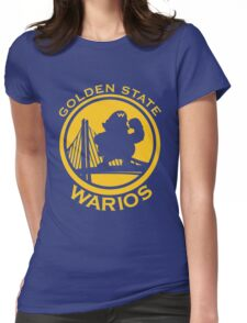 GOLDEN STATE WARIOS Womens Fitted T-Shirt