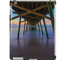 Bogue Inlet Pier at Dawn iPad Case/Skin