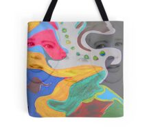 3 layer paint Tote Bag