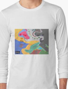 3 layer paint Long Sleeve T-Shirt