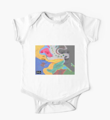 3 layer paint One Piece - Short Sleeve
