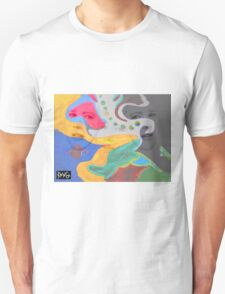 3 layer paint Unisex T-Shirt