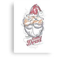 SANTA DEAD Canvas Print