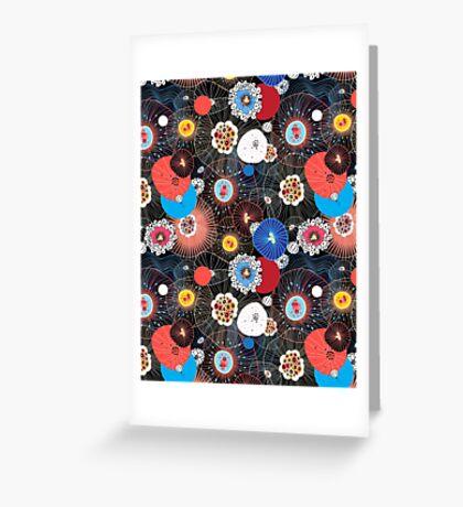 Abstract fantasy pattern Greeting Card