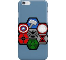 Avengers Assemble - Minimal Comic Hero Logo iPhone Case/Skin