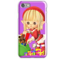 Santa's Little Elf iPhone Case/Skin