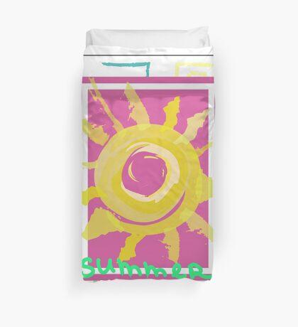 Summer graphic print Duvet Cover