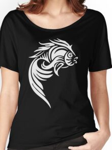 Fish Tatto Women's Relaxed Fit T-Shirt