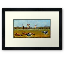 Going Dutch by Chris Brandley Framed Print