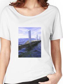 Pier Down Women's Relaxed Fit T-Shirt