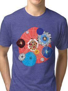 Abstract fantasy pattern Tri-blend T-Shirt