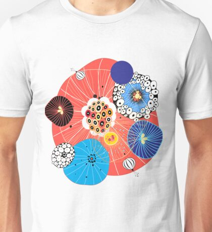 Abstract fantasy pattern Unisex T-Shirt