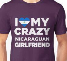 I Love My Crazy Nicaraguan Girlfriend Cute Nicaragua T-Shirt Unisex T-Shirt