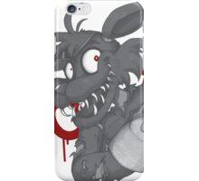 Foxy - Grayscale iPhone Case/Skin