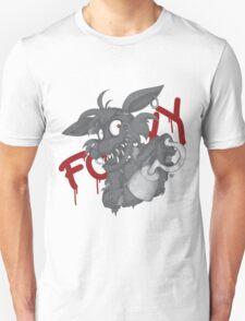 Foxy - Grayscale Unisex T-Shirt