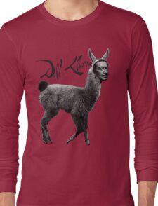 Dali Llama Long Sleeve T-Shirt