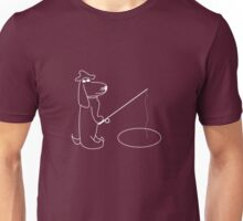 Henry the cool fisher hound Unisex T-Shirt