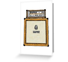 Orange Stack Greeting Card