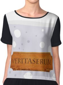 Veritaserum Potion - Harry Potter Chiffon Top