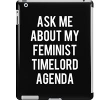 FEMALE TIMELORD iPad Case/Skin
