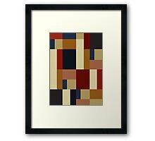 BAUHAUS DAYLIGHT Framed Print