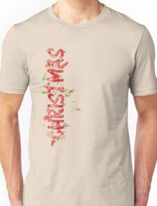 Christmas Typography Unisex T-Shirt