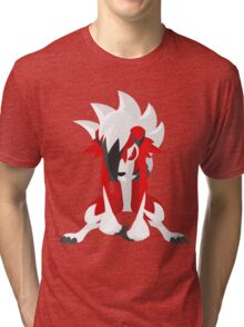 Lycanroc Tri-blend T-Shirt