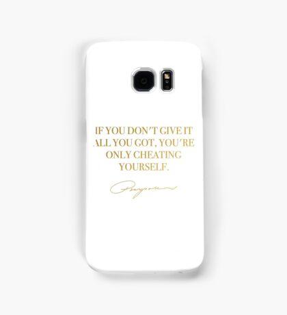 Purpose Quote - Justin Bieber Samsung Galaxy Case/Skin