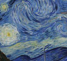 Vincent van Gogh Iconic Starry Night Sticker