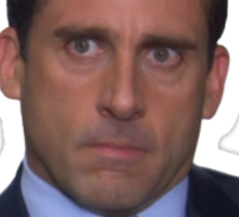 Michael Scott - Piercing Stare  Sticker