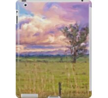 Rural Landscape (Redesdale, Victoria) iPad Case/Skin