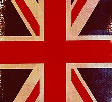 Painted Union Jack by RevImhotep